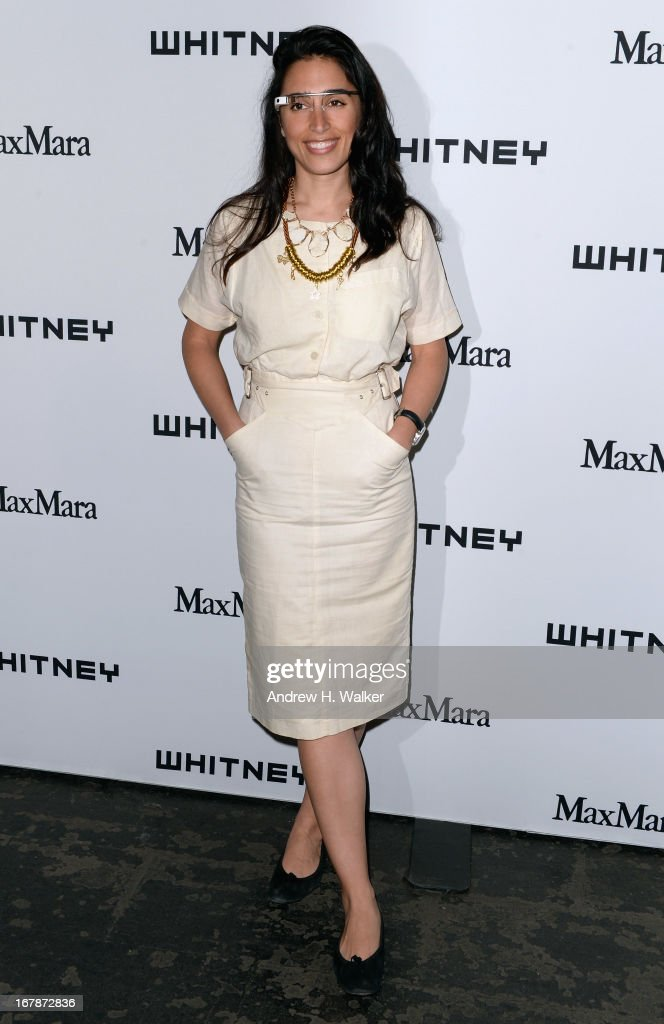 Yasmin Dolatabadi arrives at the Whitney Museum Annual Art Party on May 1, 2013 in New York City.