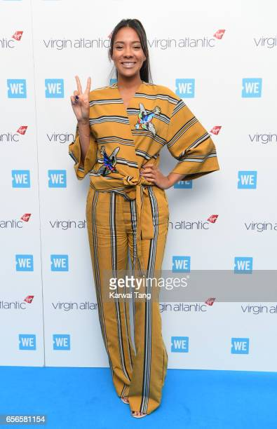Yasmin Evans attends WE Day UK at The SSE Arena on March 22 2017 in London United Kingdom