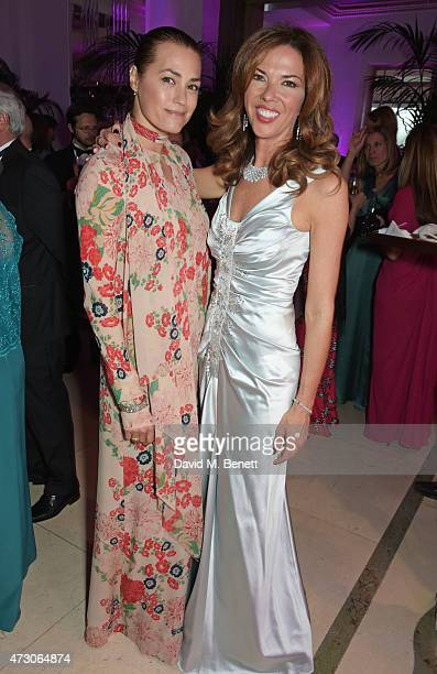 Yasmin Le Bon and Heather Kerzner attend the Spring Gala In Aid of the Red Cross War Memorial Children's Hospital hosted by QBF and Kerzner Calliva...