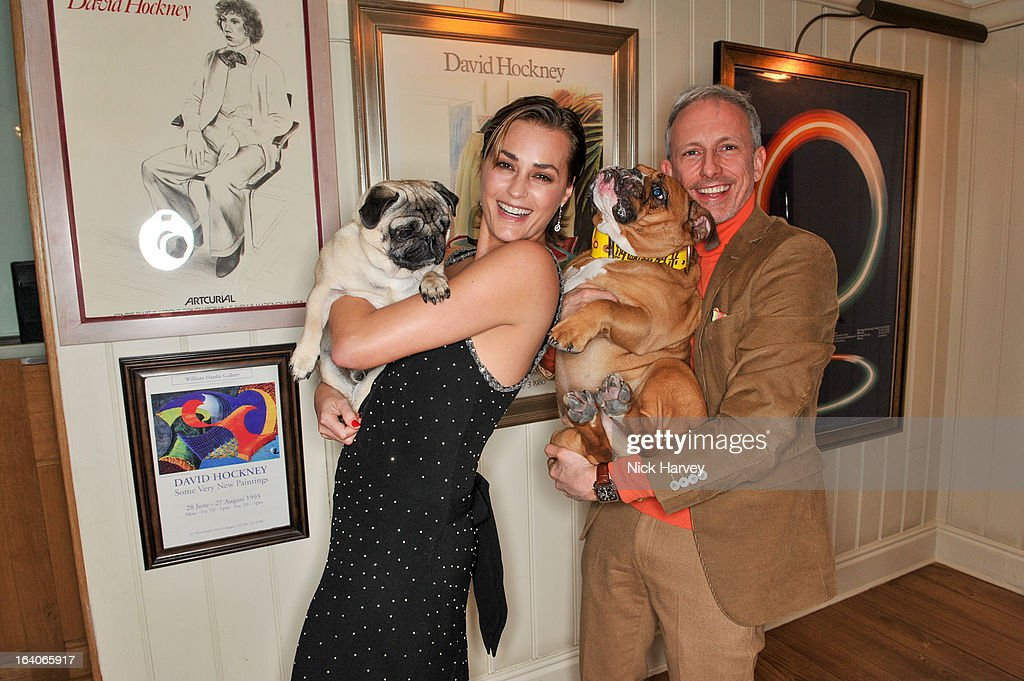 <a gi-track='captionPersonalityLinkClicked' href=/galleries/search?phrase=Yasmin+Le+Bon&family=editorial&specificpeople=161272 ng-click='$event.stopPropagation()'>Yasmin Le Bon</a> and <a gi-track='captionPersonalityLinkClicked' href=/galleries/search?phrase=Patrick+Cox&family=editorial&specificpeople=213883 ng-click='$event.stopPropagation()'>Patrick Cox</a> attend the launch of George's Dinner for Dogs menu on March 19, 2013 in London, England.