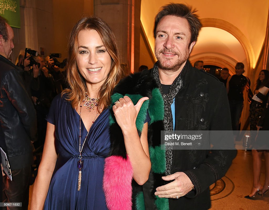 <a gi-track='captionPersonalityLinkClicked' href=/galleries/search?phrase=Yasmin+Le+Bon&family=editorial&specificpeople=161272 ng-click='$event.stopPropagation()'>Yasmin Le Bon</a> (L) and <a gi-track='captionPersonalityLinkClicked' href=/galleries/search?phrase=Simon+Le+Bon&family=editorial&specificpeople=160698 ng-click='$event.stopPropagation()'>Simon Le Bon</a> attend a private view of 'Vogue 100: A Century of Style' hosted by Alexandra Shulman and Leon Max at the National Portrait Gallery on February 9, 2016 in London, England.