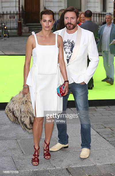 Yasmin Le Bon and Simon Le Bon attend the preview party for The Royal Academy Of Arts Summer Exhibition 2013 at Royal Academy of Arts on June 5 2013...