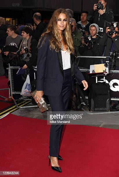 Yasmin Le Bon arrives at the GQ Men Of The Year Awards at The Royal Opera House on September 6 2011 in London England