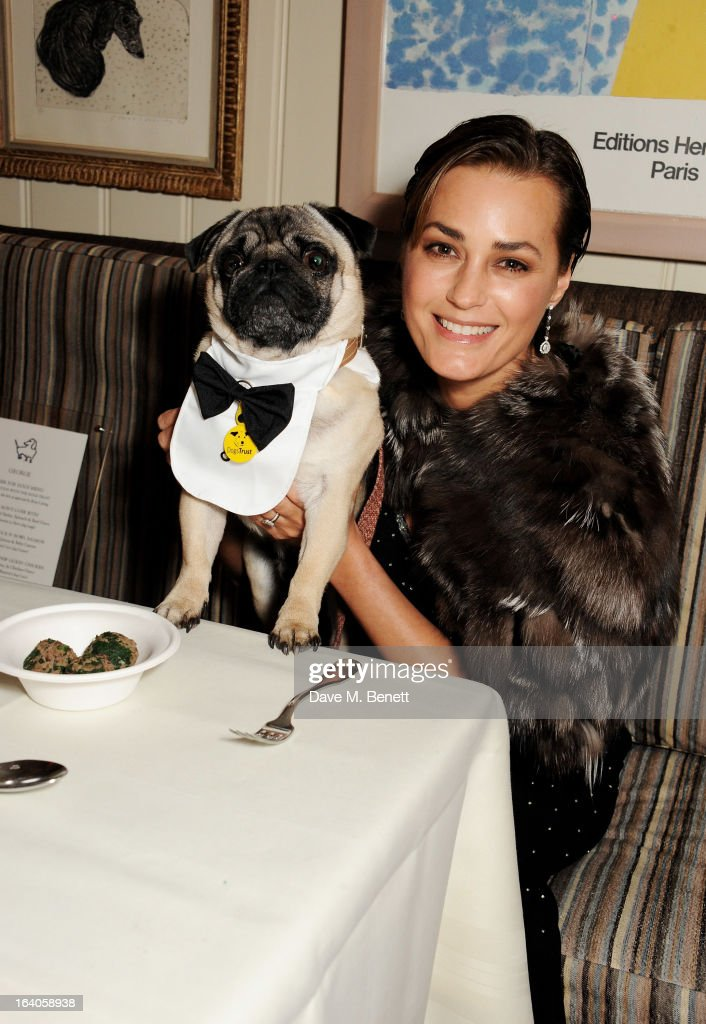 <a gi-track='captionPersonalityLinkClicked' href=/galleries/search?phrase=Yasmin+Le+Bon&family=editorial&specificpeople=161272 ng-click='$event.stopPropagation()'>Yasmin Le Bon</a> attends Dine for Dogs Trust, launching a dog friendly menu at The George Club on March 19, 2013 in London, England.