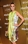 Yasmin Le Bon attends Marie Claire Prix de la Mode Awards 2010 at the French Ambassador's Residence on November 25 2010 in Madrid Spain