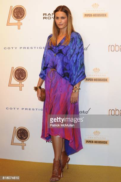 Yasmin Le Bon attends ROBERTO CAVALLI 40th Anniversary Event CONTACT SIPA PRESS FOR SALES at Les BeauxArts de Paris on September 29 2010 in Paris...