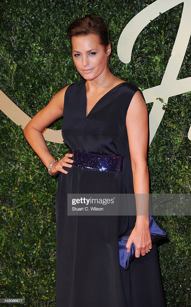 Yasmin Le Bon attends the British Fashion Awards 2013 at London Coliseum on December 2, 2013 in London, England.