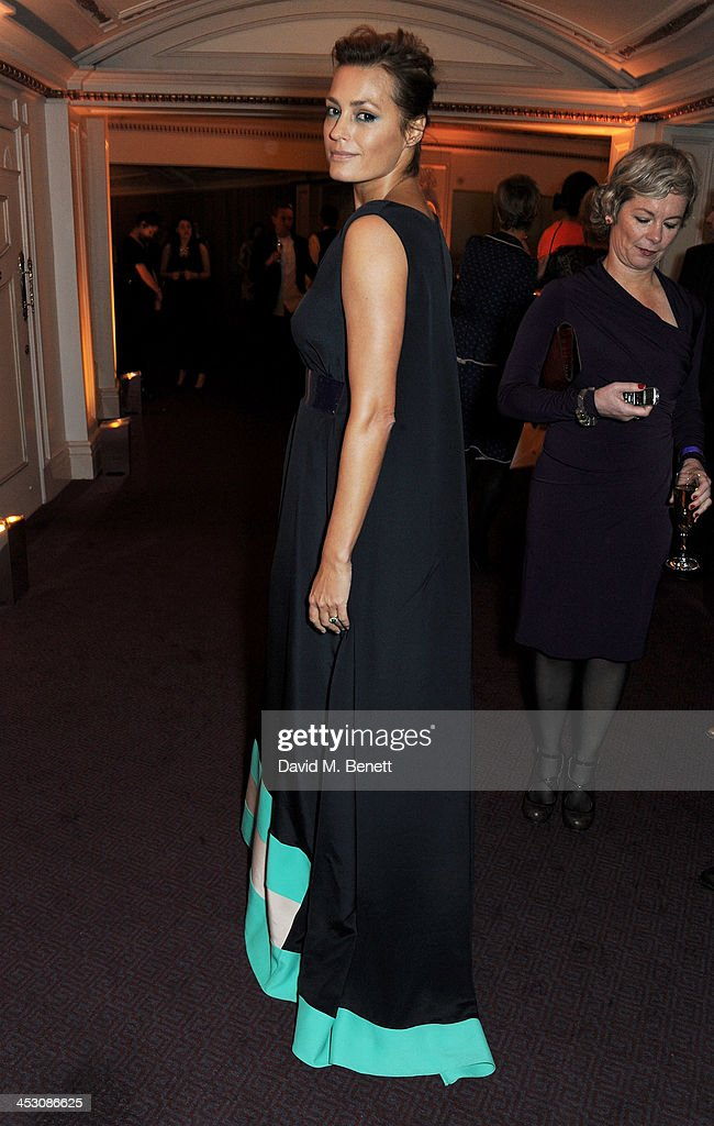 <a gi-track='captionPersonalityLinkClicked' href=/galleries/search?phrase=Yasmin+Le+Bon&family=editorial&specificpeople=161272 ng-click='$event.stopPropagation()'>Yasmin Le Bon</a> attends the British Fashion Awards 2013 drinks reception at the London Coliseum on December 2, 2013 in London, England.