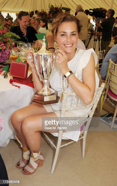 Yasmin Le Bon attends the Cartier Style Luxury Lunch at the Goodwood Festival of Speed on July 14 2013 in Chichester England