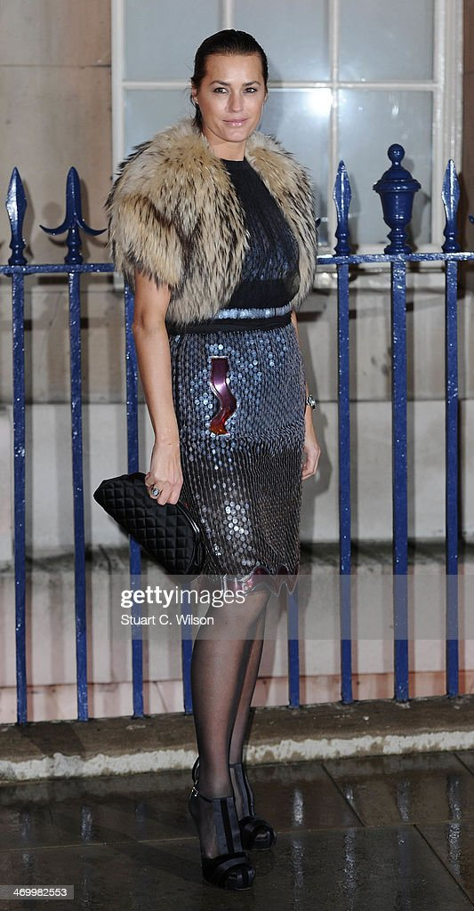 <a gi-track='captionPersonalityLinkClicked' href=/galleries/search?phrase=Yasmin+Le+Bon&family=editorial&specificpeople=161272 ng-click='$event.stopPropagation()'>Yasmin Le Bon</a> attends the Creative London party hosted by the British Fashion Council, British Academy of Film and Television Arts and The British Recorded Music Industry during London Fashion Week AW14 at Spencer House on February 17, 2014 in London, England.