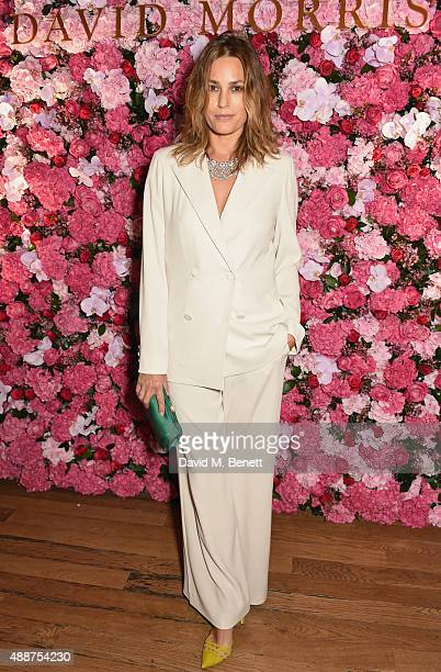 Yasmin Le Bon attends the David Morris Ai Weiwei exhibition gala preview at the Royal Academy of Arts on September 17 2015 in London England