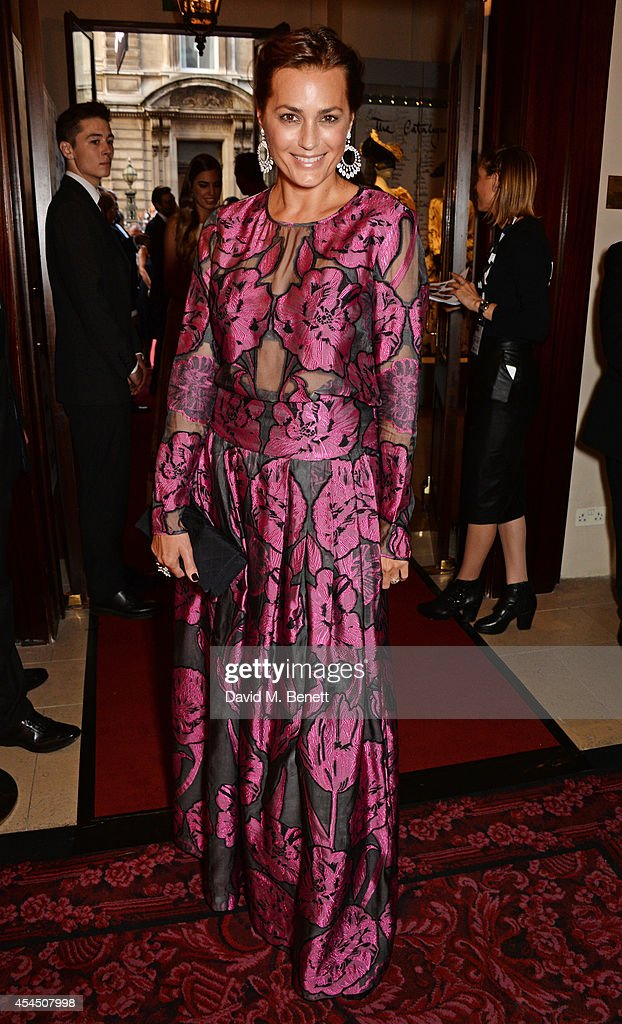 Yasmin Le Bon attends the GQ Men Of The Year awards in association with Hugo Boss at The Royal Opera House on September 2 2014 in London England