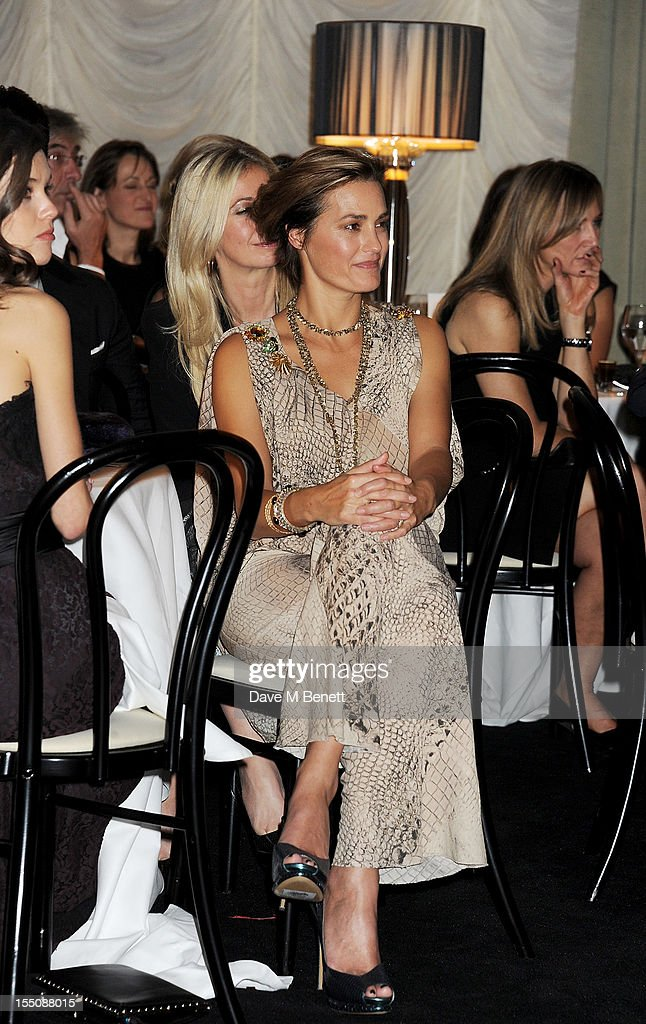 (MANDATORY CREDIT PHOTO BY DAVE M BENETT/GETTY IMAGES REQUIRED) Yasmin Le Bon attends the Harper's Bazaar Women of the Year Awards 2012, in association with Estee Lauder, Harrods and Tiffany & Co., at Claridge's Hotel on October 31, 2012 in London, England.