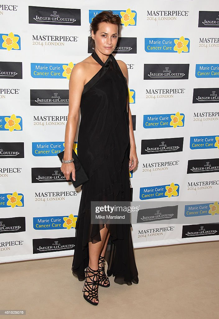 <a gi-track='captionPersonalityLinkClicked' href=/galleries/search?phrase=Yasmin+Le+Bon&family=editorial&specificpeople=161272 ng-click='$event.stopPropagation()'>Yasmin Le Bon</a> attends the Masterpiece Marie Curie Summer party in partnership with Jaeger Le-Coultre and Heather Kerzner at The Royal Hospital Chelsea on June 30, 2014 in London, England.