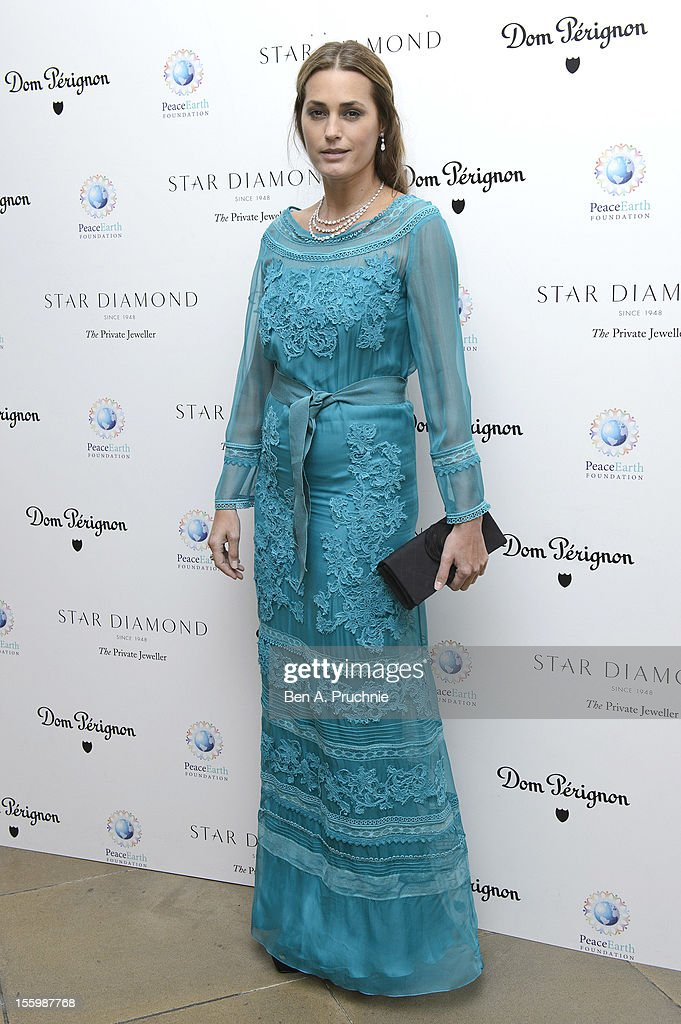 Yasmin Le Bon attends the PeaceEarth foundation fundraising gala at Banqueting House on November 10, 2012 in London, England.