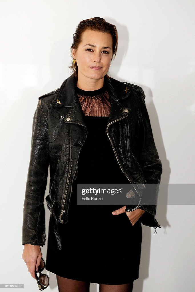 Yasmin Le Bon attends the Preen By Thornton Bregazzi show during London Fashion Week Fall/Winter 2013/14 at on February 17, 2013 in London, England.