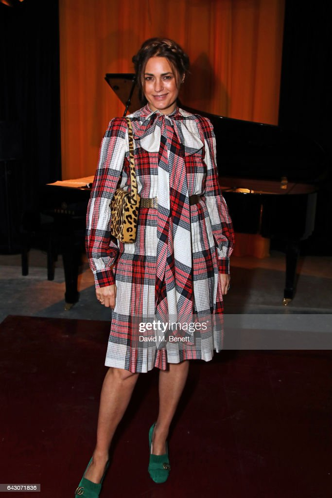 Yasmin Le Bon attends the Roksanda show during the London Fashion Week February 2017 collections on February 20, 2017 in London, England.