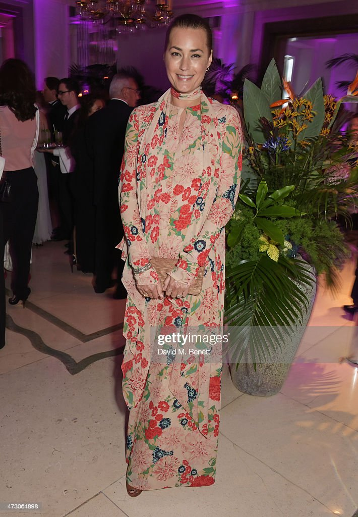 Yasmin Le Bon attends the Spring Gala In Aid of the Red Cross War Memorial Children's Hospital hosted by QBF and Kerzner Calliva at Claridge's Hotel...