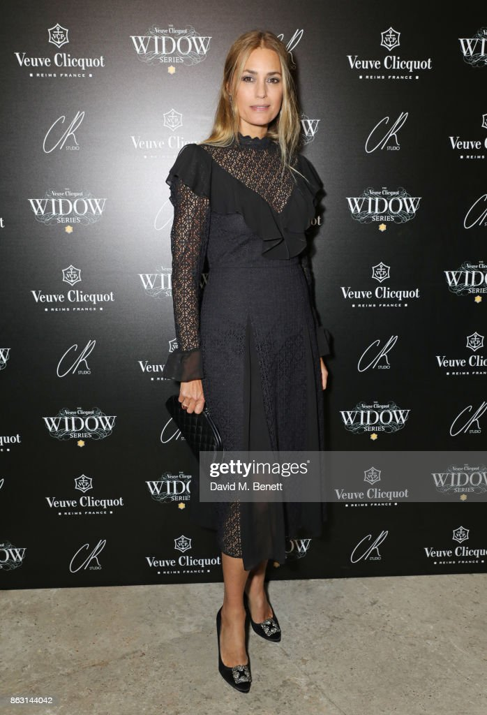 Yasmin Le Bon attends The Veuve Clicquot Widow Series By Carine Roitfeld And CR Studio on October 19, 2017 in London, England.