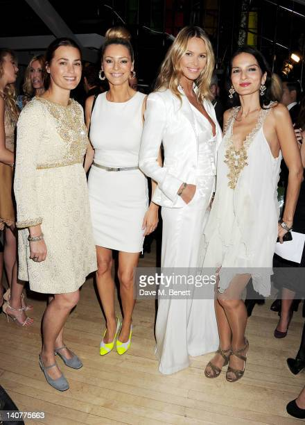 Yasmin Le Bon Tess Daly Elle Macpherson and Yasmin Mills attend as skincare brand Rodial hosts the third annual Beautiful Awards honouring women of...