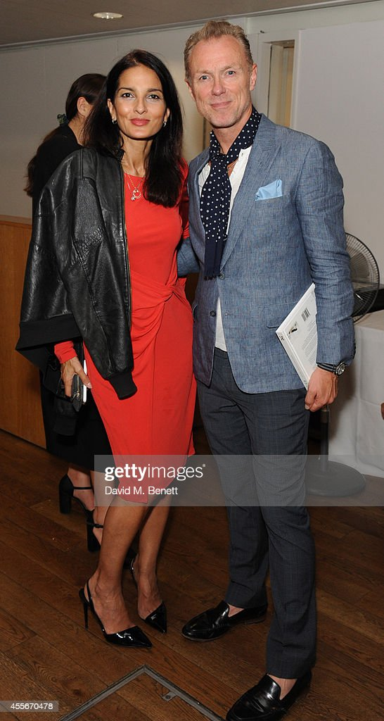 yasmin mills and gary kemp attends the launch of mind body u0026
