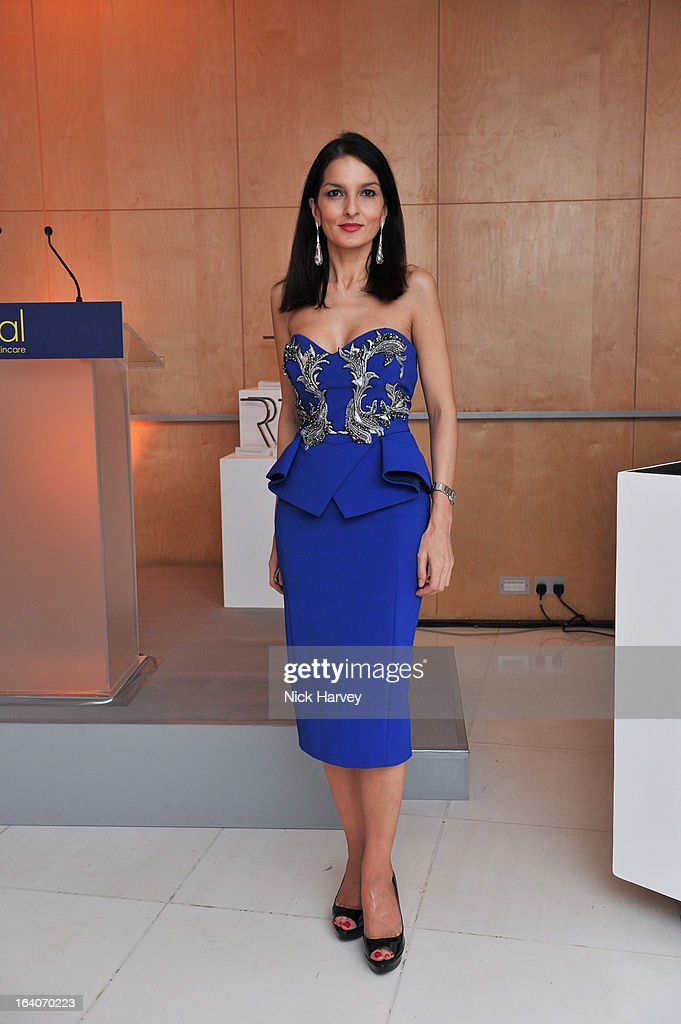 Yasmin Mills attend the Rodial Beautiful Awards at St Martin's Lane Hotel on March 19, 2013 in London, England.