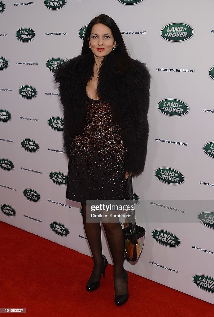 Yasmin Mills attends the Range Rover Sport world unveiling at the 2013 New York Auto Show at Skylight at Moynihan Station on March 26, 2013 in New York City.