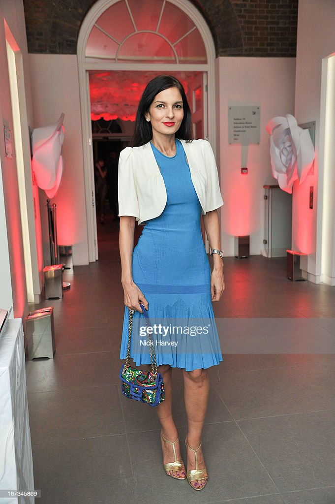 Yasmin Mills attends the Roger Vivier book launch party at Saatchi Gallery on April 24, 2013 in London, England.
