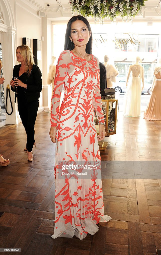 <a gi-track='captionPersonalityLinkClicked' href=/galleries/search?phrase=Yasmin+Mills&family=editorial&specificpeople=226690 ng-click='$event.stopPropagation()'>Yasmin Mills</a> attends the Salon Tea hosted by Alice Temperley and <a gi-track='captionPersonalityLinkClicked' href=/galleries/search?phrase=Yasmin+Mills&family=editorial&specificpeople=226690 ng-click='$event.stopPropagation()'>Yasmin Mills</a> at Temperley London on June 4, 2013 in London, England.