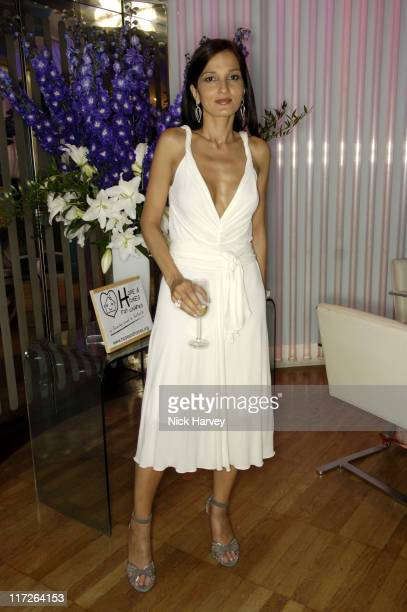 Yasmin Mills during Yasmin Mill's New Book How To Party Launch at Harvey Nichols in London Great Britain