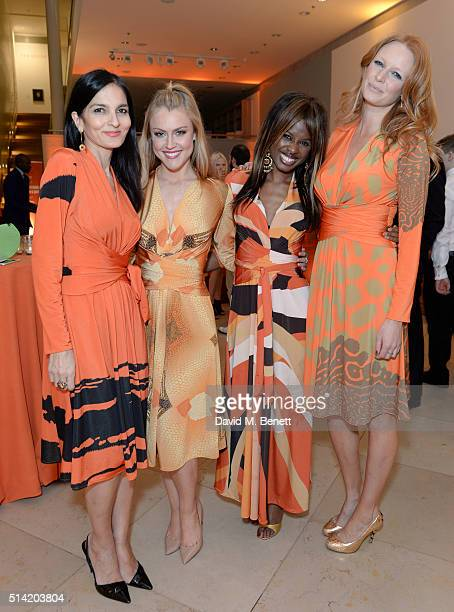 Yasmin MillsCamilla KerslakeJune SarpongOlivia Inge at The United Nations Trust Women United Dinner supported by The LDNY Foundation and Goldman...