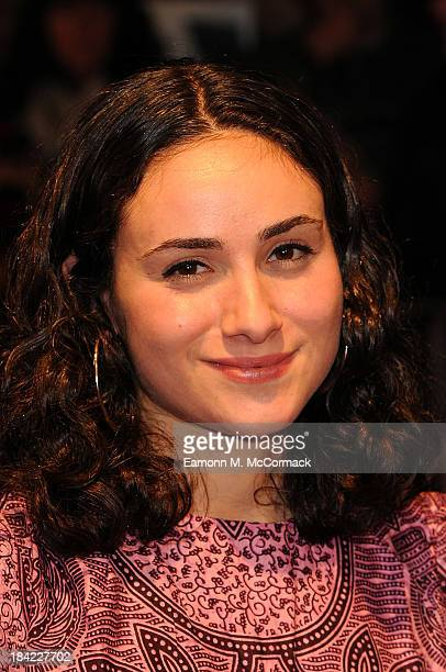 Yasmin Paige attends a screening of 'The Double' during the 57th BFI London Film Festival at Odeon West End on October 12 2013 in London England