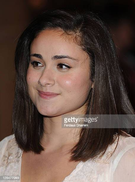 Yasmin Paige attends the 'Submarine' screening as part of the 54th BFI London Film Festival at on October 22 2010 in London England