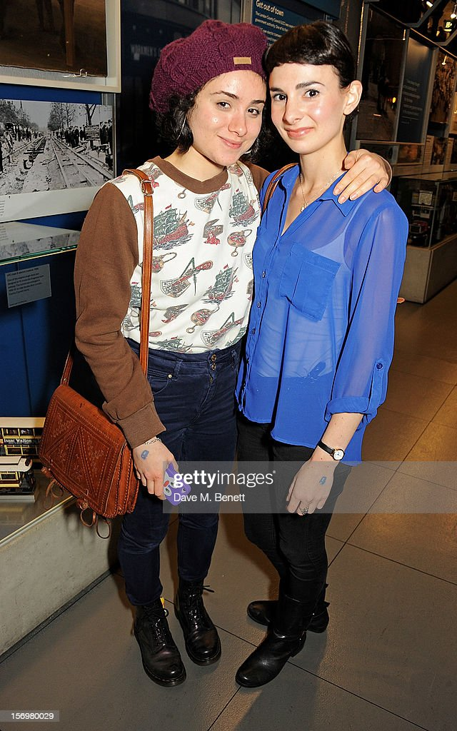 Yasmin Paige (L) attends the UK Premiere of 'Sightseers' in association with Stella Artois at the London Transport Museum on November 26, 2012 in London, England.