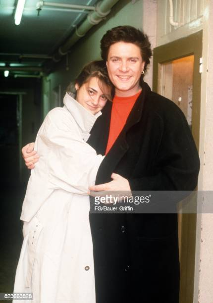 Yasmin Parvaneh and Simon Le Bon together on August 29 1984 in London United Kingdom 170612F1