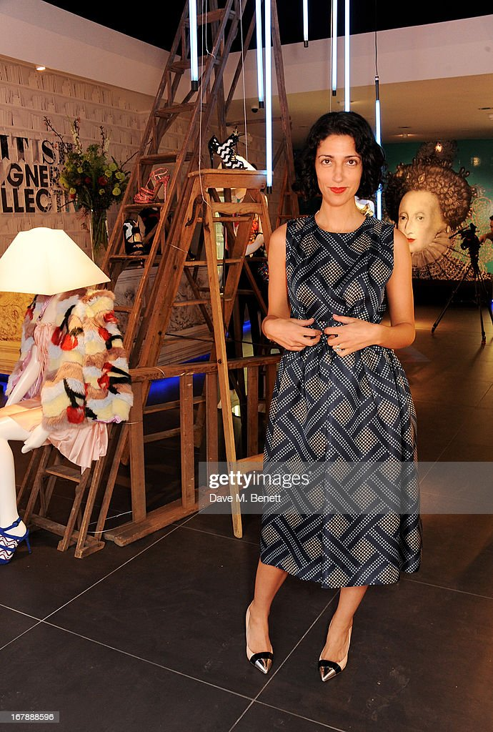 Yasmin Sewell attends as <a gi-track='captionPersonalityLinkClicked' href=/galleries/search?phrase=Rita+Ora&family=editorial&specificpeople=5686485 ng-click='$event.stopPropagation()'>Rita Ora</a> launches the British Designers' Collection at Bicester Village on May 2, 2013 in Bicester, England.