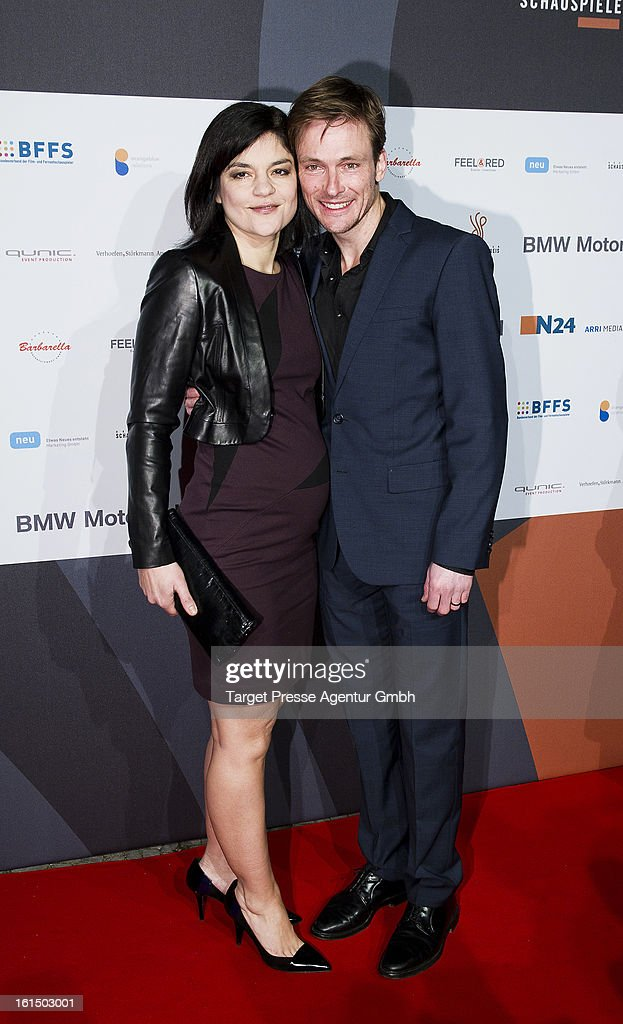 Yasmin Tabatabai and Andreas Pietschmann attend the BMW aftershow party of the 'Deutscher Schauspielerpreis' during the 63rd Berlinale International Film Festivalon February 11, 2013 in Berlin, Germany.