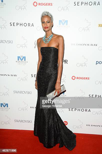 Yasmin Warsame attends the 2nd Annual Canadian Arts And Fashion Awards held at the Fairmont Royal York Hotel on January 31 2015 in Toronto Canada