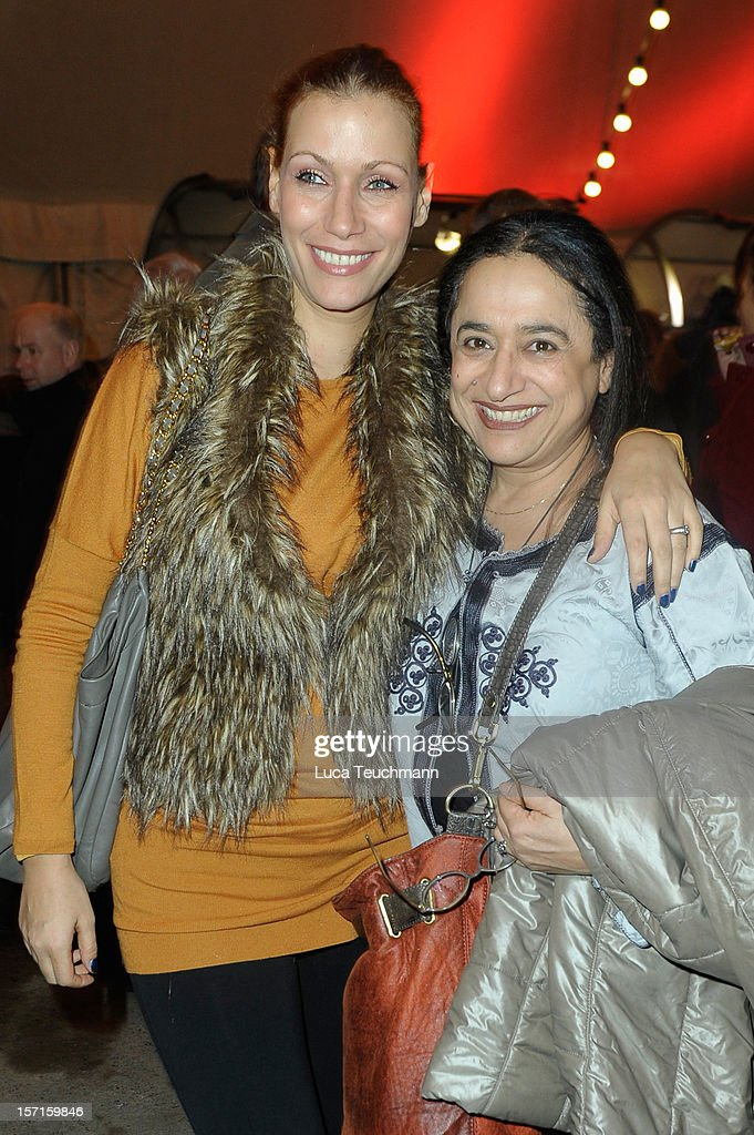 Yasmina Filali and mother attend Cirque Du Soleil Germany Premiere at Corteo Berlin - Under the Grand Chapiteau on November 29, 2012 in Berlin, Germany. (Photo by Luca Teuchmann/Getty Images)s)