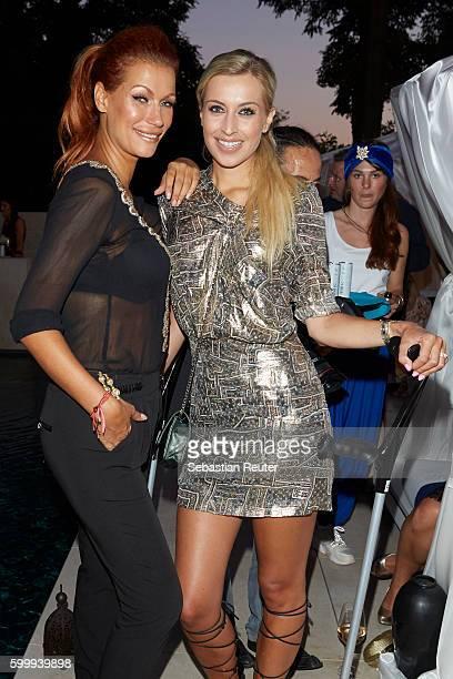 Yasmina Filali and Verena Kerth attend JT Touristik Party on September 7 2016 in Berlin Germany