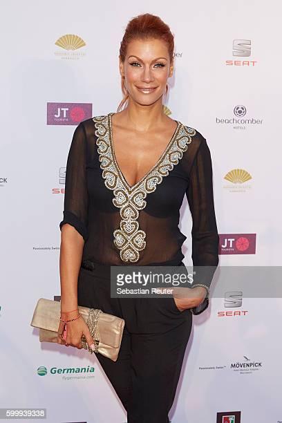 Yasmina Filali attends JT Touristik Party on September 7 2016 in Berlin Germany