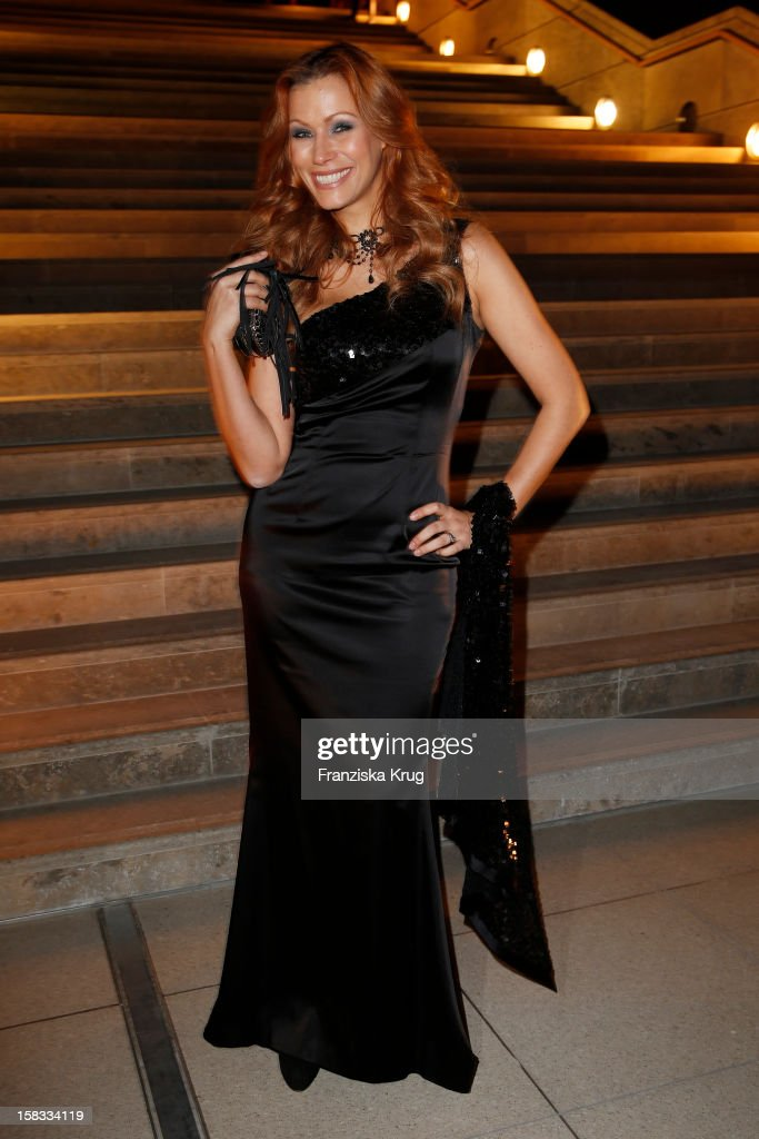 Yasmina Filali attends the 18th Annual Jose Carreras Gala on December 13, 2012 in Leipzig, Germany.