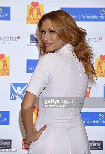 Yasmina Filali attends the 'Helden des Alltags' Gala at Theater Kehrwieder on October 5 2016 in Hamburg Germany