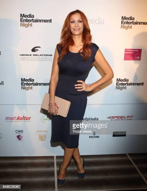 Yasmina Filali attends the Media Entertainment Night at the West Hotel Elbphilharmonie on February 27 2017 in Hamburg Germany