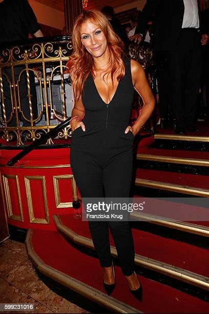Yasmina Filali attends the 'Nacht der Legenden' at Schmidts Tivoli on September 04 2016 in Hamburg Germany