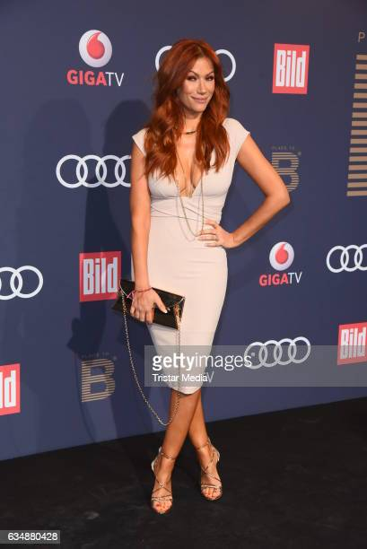 Yasmina Filali attends the PLACE TO B Party at Borchardt on February 11 2017 in Berlin Germany
