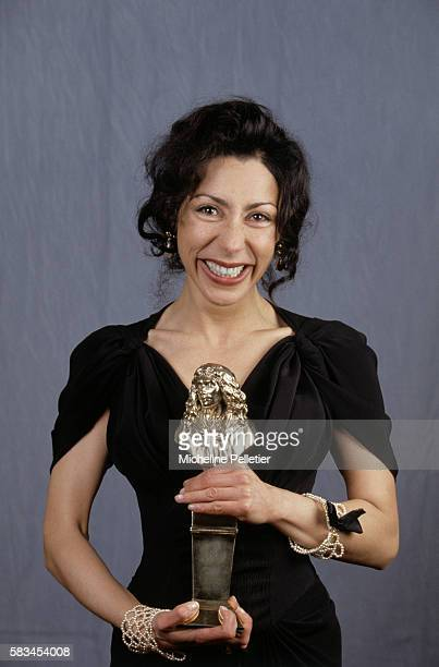 Yasmina Reza won the Best Playwright and the Best Author Awards for her play 'Art' during the 9th Moliere Awards Ceremony