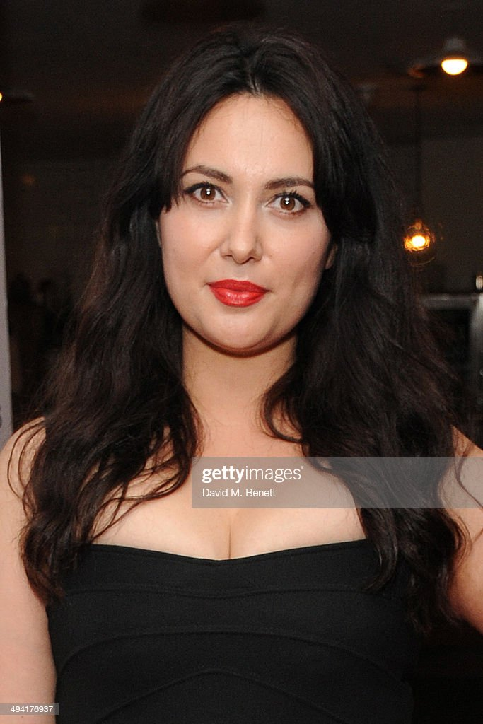 Yasmine Akram attends the UK Film Premiere of 'Jimmy's Hall' at BFI Southbank on May 28, 2014 in London, England.