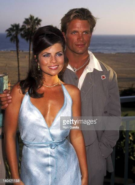 Yasmine Bleeth and David Chokachi at the The American Red Cross of Santa Monica Spirit Award Honoring the Cast of 'Baywatch' Loews Santa Monica Beach...