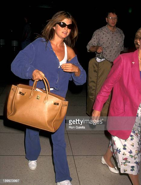 Yasmine Bleeth at Los Angeles International Airport Los Angeles International Airport Los Angeles